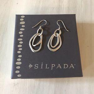 Silpada Sterling Silver Dangle Earrings